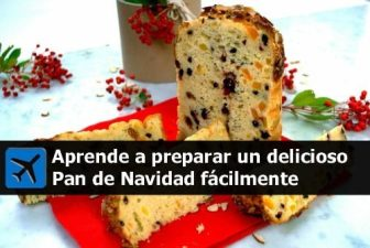 cómo se prepara el pan de navidad