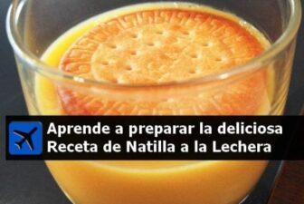preparación e ingredientes Receta Natilla a la Lechera
