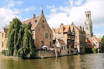 luna de miel en Brujas Bélgica