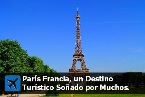 vacaciones en París Francia